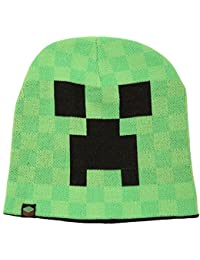 Minecraft Creeper Face Beanie Large/X-Large