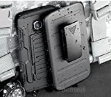 Galaxy S7 Active Custodia, Cocomii Robot Armor NEW [Heavy Duty] Premium Belt Clip Holster Kickstand Shockproof Hard Bumper Shell [Military Defender] Full Body Dual Layer Rugged Cover Case Paraurti (Black)