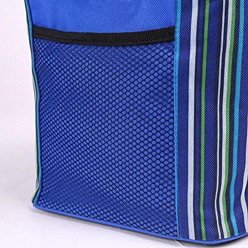MOXIN Borsa isolante - Cinturino in lana Oxford Pranzo scatolato, Borse fresche , blue (ice pack) blue (ice pack)