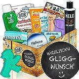 Pflegebox DDR | Geschenk Spruch lustig | Härrzlisch'n Gliggwunsch