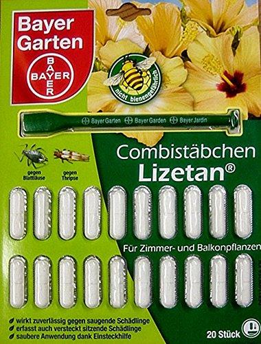 Bayer giardino lizetan combi incenso 20pezzi repellente per insetti all' aperto, beige, 1,1x 17x 22,5cm