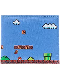 Cartera–Nintendo–Super Mario sublimada Bi-fold Nueva licencia regalos mw1px6sms