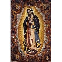 La Virgen de Guadalupe by Sebastian Salcedo Póster