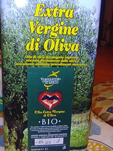 Olio extravergine di oliva bio viaggiatori d'intento