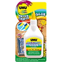 UHU Young Creativ, Colle créative, Colle de Bricolage Arts & Crafts, Flacon, 100 g, Transparent