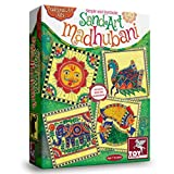 #3: ToyKraft Simple and Symbolic Sand Art Madhubani