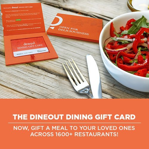 Dineout Dining Gift Card for more than 1600 Restaurants - Rs.1000 ...