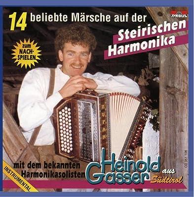 16 Beliebte Märsche auf der Steirischen Harmonika