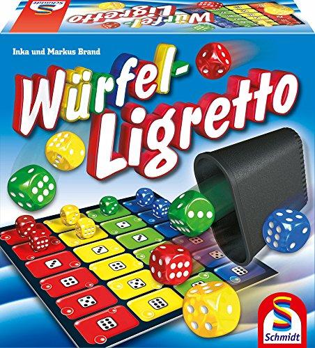 Schmidt Spiele 49611 Würfel-Ligr...