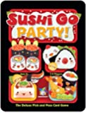 """Gamewright """"Sushi Go Party The Deluxe Pick and Pass"""" Card Game"""