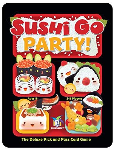 It's a party platter of mega maki, super sashimi, and endless edamame in this expanded version of the best-selling card game. You still earn points by picking winning sushi combos, but now you can customize each game by choosing a la carte from a men...