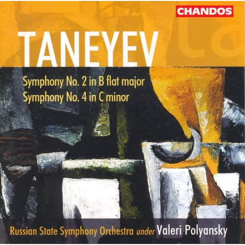 Taneyev: Symphonies Nos. 2 And 4