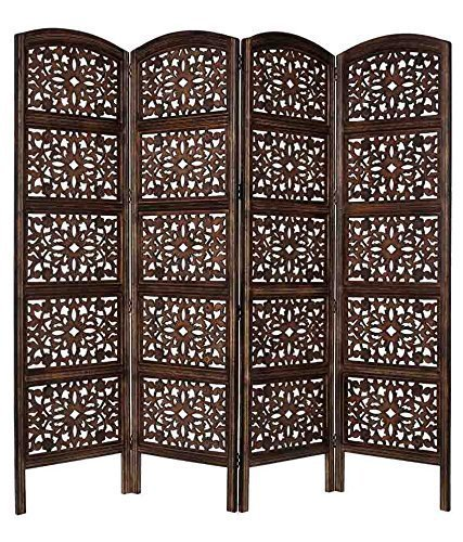 Shilpi:Wooden Partition / Room Divider/Screen in Net Design