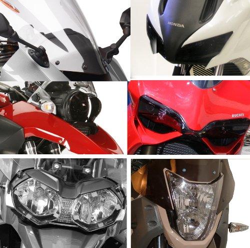 Powerbronze - Protectores para faros de moto (para Suzuki V-Strom 650 2004-2011,...