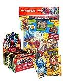 Lego Ninjago Serie 2 Bundle: Starterpack, Display mit 50 Booster, 2 limitierte XXL-Karten