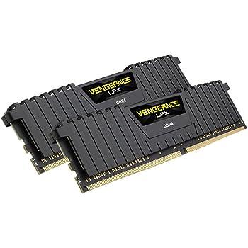 Corsair Vengeance LPX Memorie per Desktop a Elevate Prestazioni con Airflow Fan, 8 GB (2 X 4 GB), DDR4, 3600 MHz, C18 XMP 2.0, Nero