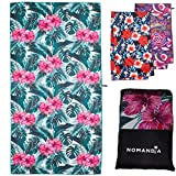 Nomandia Microfibre Beach Towel Extra Large - Quick Dry, Sand Free, XL Lightweight