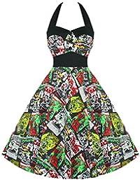 Hell Bunny B Movie Horror Punk Goth Psychobilly Rockabilly 1950s Party Swing Dress