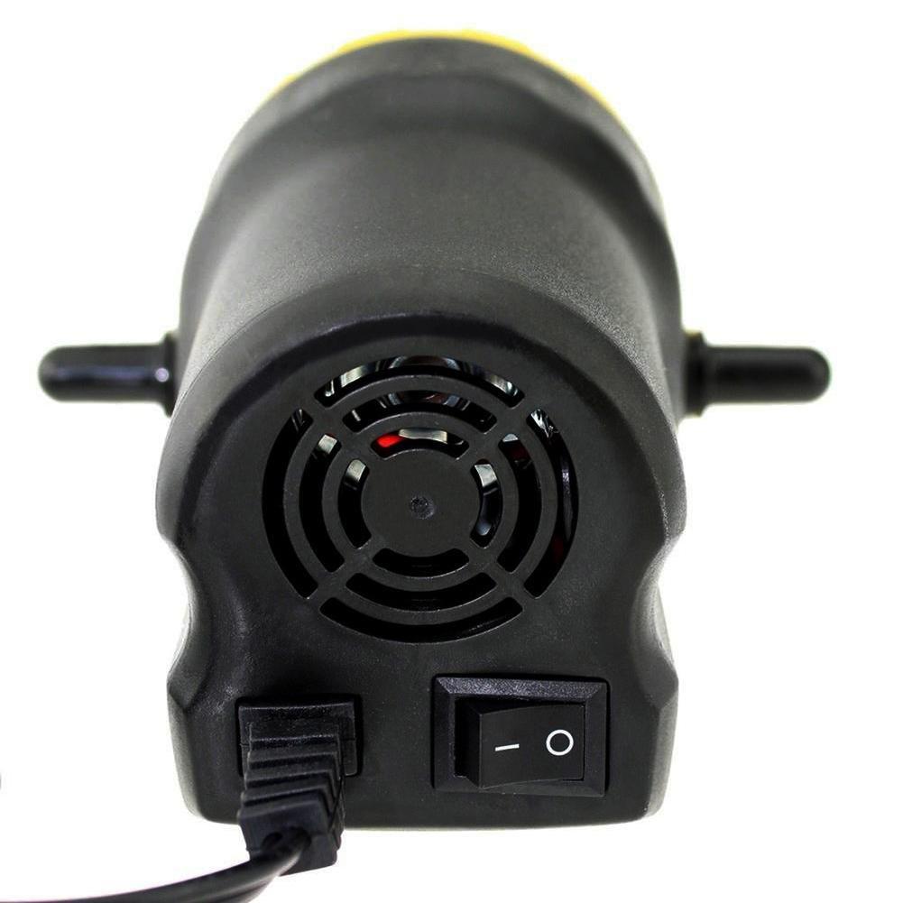 Outbit Pumpenzieher - 1 PC von DC 12V 60W Fluid Extractor Motor, 250L / Stunde Öl Diesel Transferpumpe für Auto Motorrad…