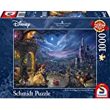 Schmidt puzzle 59484, Disney, The Beauty and the Beast, Dance in the Moonlight, Thomas Kinkade, 1000 parts.