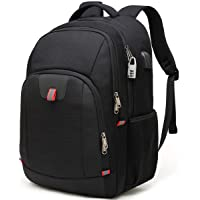 Laptop Rucksack Herren Rucksack Damen Anti-Diebstahl Rucksack für 17 zoll Laptop Schulrucksack Multifunktion Business…