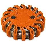 Powerflare LED batterij waarschuwingslampje oranje
