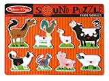 #9: Melissa & Doug 726 Farm Animals Sound Puzzle