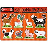 Melissa & Doug 726 Farm Animals Sound Puzzle