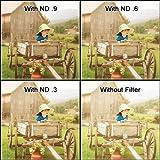 100 x 300 mm Kodak Wratten 2.0 Filtre optique rectangulaire n ° 96 à densité neutre 0,1