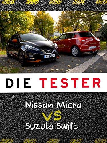 Die Tester: Nissan Micra vs. Suzuki Swift Suzuki Swift Turbo