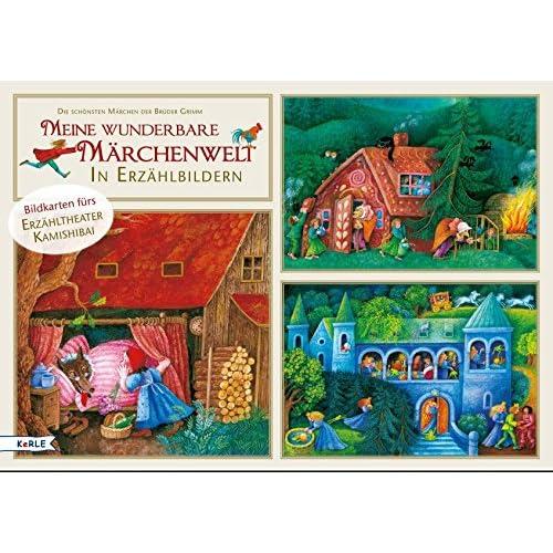 Meine wunderbare Märchenwelt in Erzählbildern. Bildkarten fürs Erzähltheater Kamishibai