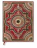 Paperblanks - Ventaglio Barockfächer Rosso - Notizbuch Ultra Flexi Liniert - 176 Seiten (Flexis)