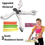 Wonder Arms, eBuy Fitness-Ausrüstung für die Arme, Fitnessausrüstung für den Oberkörper, Übungsprogramm für zuhause-Widerstandsringe für das Training und Arm der Tonalität