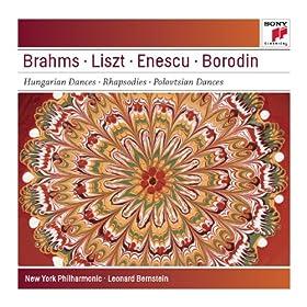 Brahms: Hungarian Dances Nos. 5 & 6; Liszt: Les Pr�ludes; Hungarian Rhapsodies Nos. 1 & 4; Enescu: Romanian Rhapsody No. 1 - Sony Classical Masters