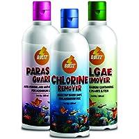 Boltz All 3 in 1 Fish Medicine Pack of 100 Ml Each (Chlorine Remover, Parasite Guard, Algae Remover)