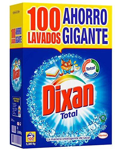 Dixan Detergente Polvo Total - 100...