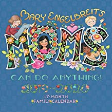 Mary Engelbreit's Moms Can Do Anything! 2019-2020 17-Month Family Square Wall Calendar
