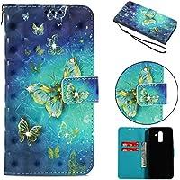 Everainy Samsung Galaxy J8 2018 Hülle Silikon PU Leder Flip Wallet Case Gummi Schutzhülle Kartenfach Magnet für... preisvergleich bei billige-tabletten.eu