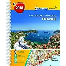Atlas Routier France 2018 (A4-Spirale)