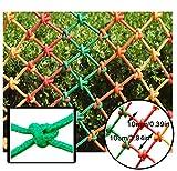 Kindersicherheitsnetz For Balkon Treppenschutznetz Innengeländernetz Farbe Nylon Handgewebtes Netz Fallschutznetz Raumteilungsnetz Decke Dekorieren Netzseil 10mm Masche 10cm ( Size : 1x3m )