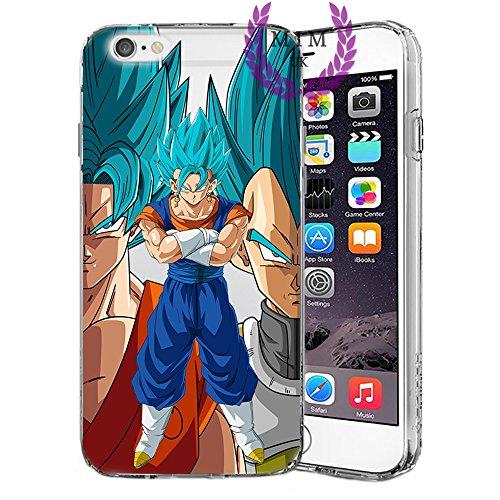 Custodie iPhone per Dragon Ball Z Super GT Case Cover - Design Ultimi Unique - Tutti i modelli iPhone - Brand New - Alta Qualità - Tournament Of Power - Goku Black Rose - Goku Blue - Gohan - Jiren - V Potara Fusion