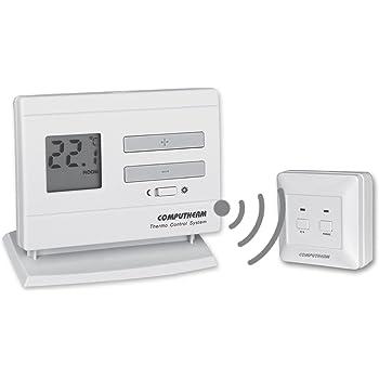 Cronotermostato digitale programmabile wireless for Cronotermostato gbc