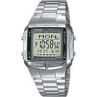Casio Collection DB-360N, orologio digitale con cinturino in acciaio INOX