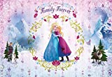 Fototapete Kindertapete FROZEN FAMILY FOREVER 368x254 Disney Kinderzimmer Elsa und Anna