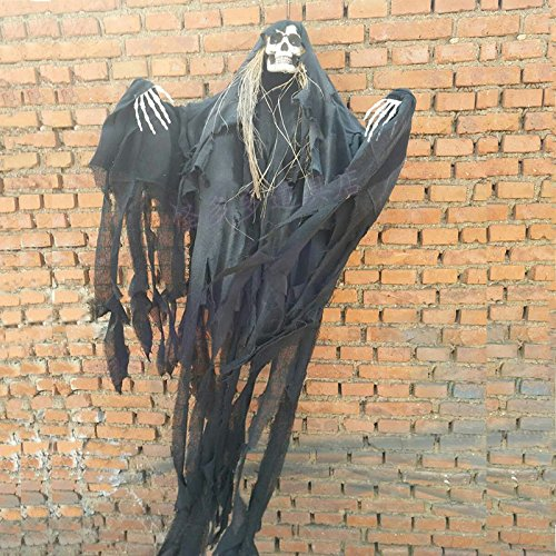 Halloween Horror Schädel Geister beängstigend Menschen Spielzeug Geister Dekoration (Beängstigend Outfit)
