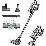 proscenic P11 Aspiradora Sin Cable, Potente con 30Kpa, Escoba Eléctrica Portátil con Tanque de Agua, Pantalla Táctil, 55 Minu