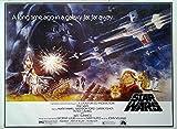 Star Wars: Krieg der Sterne: QF (1977) | US Import Filmplakat, Poster [68 x 98]