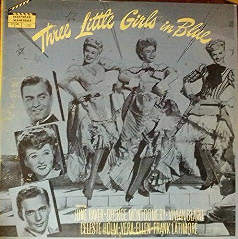 THREE LITTLE GIRLS IN BLUE (ORIGINAL SOUNDTRACK LP VINYL, 1980S LTD ISSUE)