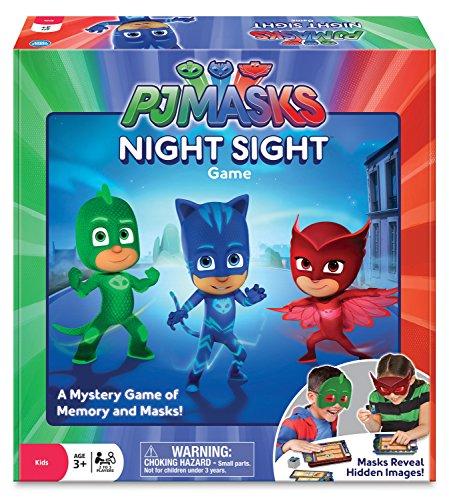 Ravensburger PJ Masks - Pyjamahelden Night Sight Spiel, englische Version