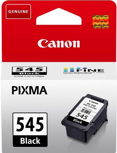 Canon PG-545 original Tintenpatrone  Schwarz für Pixma Inkjet Drucker TS3150-TS3151-MX495-MG2450-MG2550-MG2550S-MG2555S-MG2950-MG3050-MG3051-MG3052-MG3053-IP2850